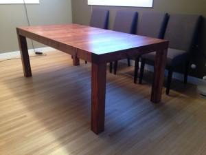Reclaimed Fir Dining Table