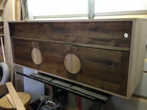 Birch Media Console (progress picture)